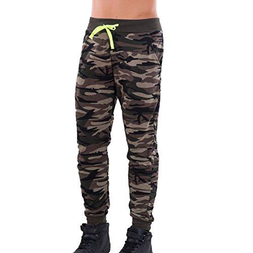 Toocool - Tuta uomo felpa cappuccio pantaloni sport cerniera fitness cotone nuova S67 pantaloni 9