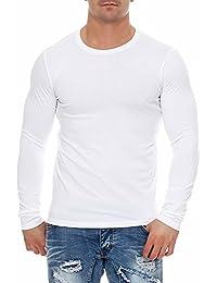 140870d2c0c981 Happy Clothing Herren Langarmshirt Longsleeve T-Shirt Rundhals Top S M L XL  2XL 3XL