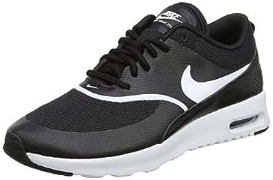Nike Air Max Thea, Chaussures de Running Femme, Noir (Black/White 028), 37.5 EU