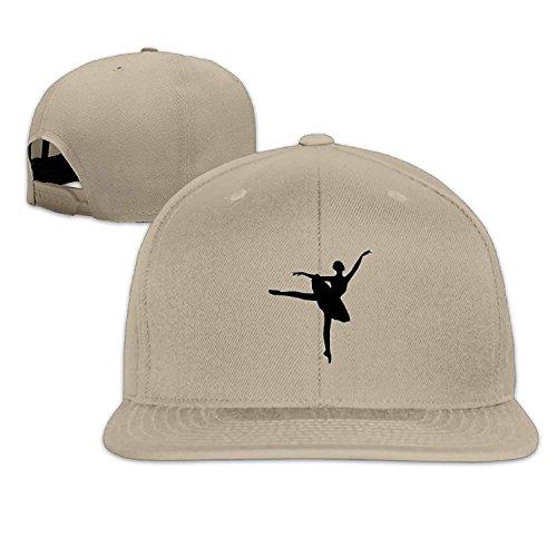 Yeslif Ballet Girl Classic Cap -Cotton Blend Flat Visor