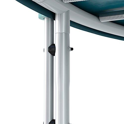 Ultrasport Gartentrampolin Jumper, Trampolin Komplettset inklusive Sprungmatte, Sicherheitsnetz, gepolsterten Netzpfosten und Randabdeckung - 6