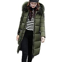 2240a82ab Mujer Invierno Casual Más Gruesa Abrigo Parkas Militar con Capucha Chaqueta  de Acolchado Anorak Jacket Outwear