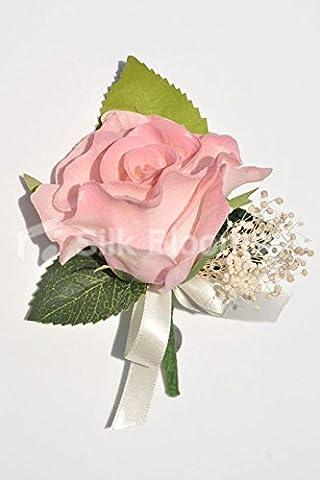 Vintage Vieux Rose véritable Conserve Gypsophila mariage Boutonnière