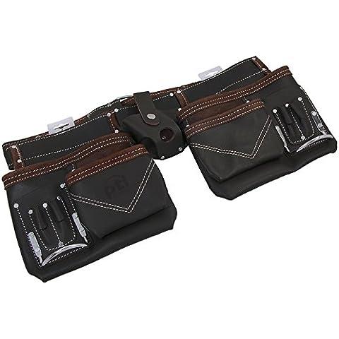 Aceite de Herramientas Profesional Industries piel Premium ajustable cinturón portaherramientas de carpintero sin