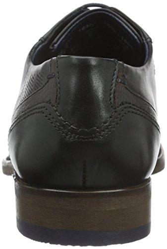 Bugatti, 312164011000, Herren Derby Schuhe Schwarz (schwarz 1000)