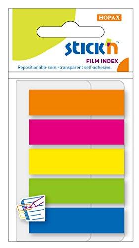 Zakladki indeksujace samoprzylepne mix 5 kolorów neon