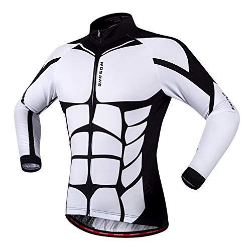 WYOUTDOOR Volle Hülse, Die Jersey- Tops Breathable Multi-Tasche Reitjacken Feuchtigkeit Wicking Kleidung Für Mann,B,S -