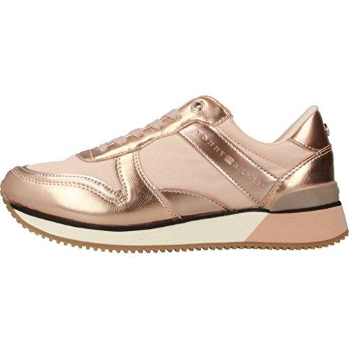Da Sneaker Femme polverosa Rose 502 Tennis Bassi Tommy Metallico Hilfiger R5nZt