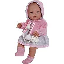 Berbesa - Muñeco bebé recién nacida, 42 cm (5104)