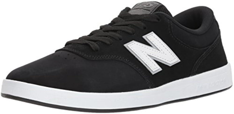 New Balance Numeric Zapatos 424 Negro-Blanco (EU 43/US 9.5, Negro)