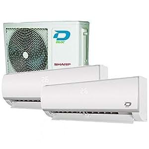 Climatizzatore Inverter Dual Split Wall I 12000 12000
