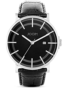 Joop! Herren-Armbanduhr XL Executive Lux Analog Quarz Leder JP101411001