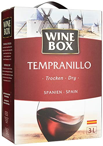 Wine Box Tempranillo Vino de la Tierra de Castilla trocken Bag-in-Box (1 x 3 l)