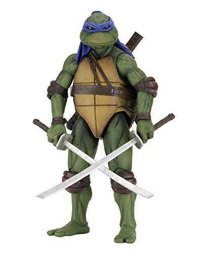 NECA TEENAGE MUTANT NINJA TURTLES LEONARDO 1/4 SCALE ACTION FIGURE - 16.5