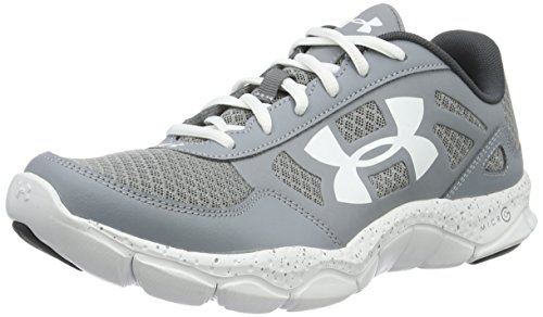 Under Armour Micro G Engage Bl H 2, Scarpe Running Uomo, Grigio (Steel), 44.5 EU
