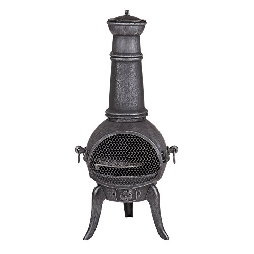 Fire Mountain Madrid Medium Cast Iron Chiminea