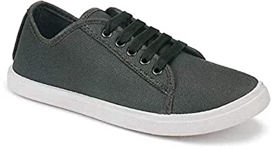 Shoefly-5005 Grey Exclusive Range of Loafers Sneakers Shoes for Women