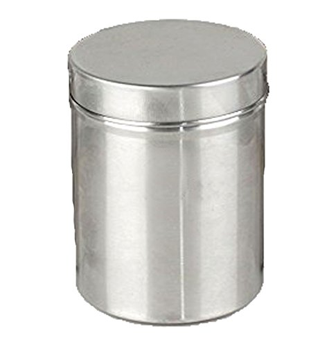 STREET CRAFT ® Stainless Steel Food Storage Containers Storage Box Multipurpose Storage Box Container Set Of 1 Pieces 7 cm 30 Gram  available at amazon for Rs.150