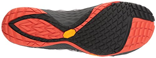 Merrell Herren Trail Glove 4 Knit Traillaufschuhe Grau (Holzkohle)