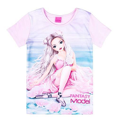 Top Model Fantasy Mädchen T-Shirt, rosa, pink Größe 152, 12 Jahre