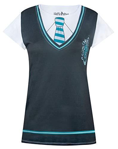 Harry Potter Slytherin Costume Womens/Damen T-Shirt S - XXXL