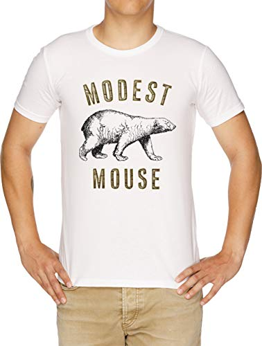 Modest Mouse T-shirt (Modest Mouse Bear Herren T-Shirt Weiß)