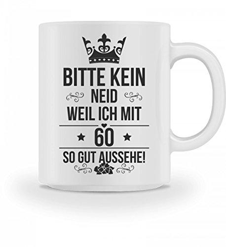 Galeriemode Tasse zum 60 Geburtstag Geschenk für Mann Frau Scherzartikel