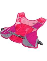 MagiDeal Sac d'hydratation Multi-Poche Gilet de Sécurité Réfléchissant Haute Visibilité en Maille Polyester pour Courir, Jogging
