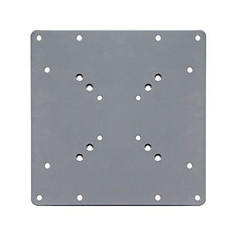 200-x-200-vesa-silver-mount-adaptor-plate-by-electrosmart-convert-tv-wall-bracket-50-75-100-mm