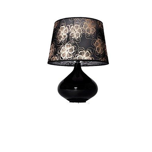 personnalité simple Style européen simple décoration salon lampe de table chambre lampe de chevet chaud lampe de table romantique