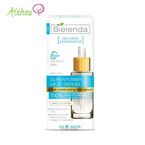 Bielenda SKIN CLINIC PROFESSIONAL Aktives Feuchtigkeits- ANTI- AGE- Serum Tag/ Nacht