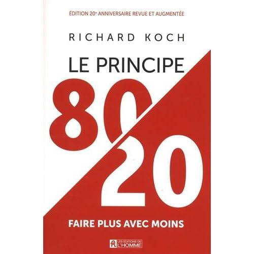 Le principe 80/20 - Edition anniversaire