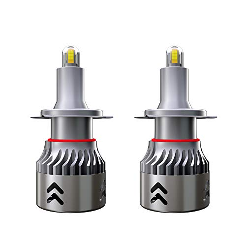 Diesel H7 Mini Led Lampadine del Faro per Auto 9600LM 60W 6000K LED Lam