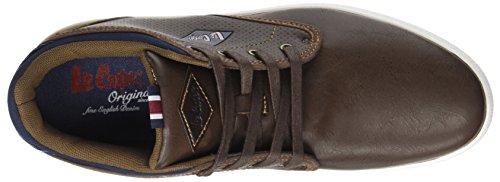 Lee Bahías Cooper Zapatillas Bajas Marrón Deporte De Humano marrón q66APn