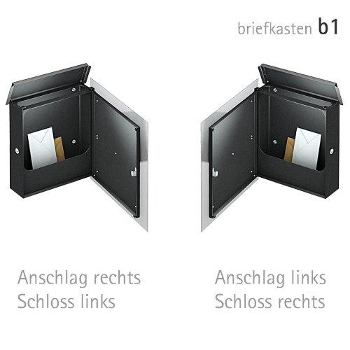 ZED Briefkasten aus Edelstahl – Höchste Qualität - 5