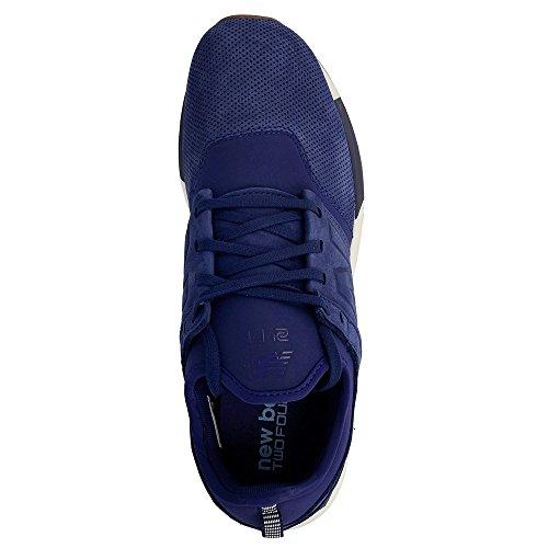 Scarpe uomo New Balance, mod. MR274, colore nero, tomaia in mesh Blu marino-Bianco