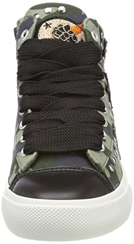 REPLAY Emma, Sneaker a Collo Alto Donna Verde (Mil Grn)