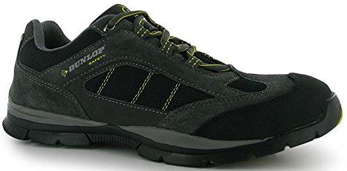 Stabiler geschnürt Sicherheit Lowa Schuhe Herren Stiefel Workwear Charcoal Yellow