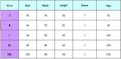 Damen Freizeitkleider Minikleid Ärmellos Gemustert Vintage Muster A-Linie Minirock Short Dresses Beachwear Weiß