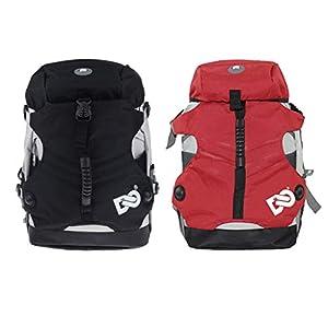 Baoblaze 2 x Mutifunktion Schlittschuhe Tasche Rollschuhetasche Polyester Rucksack für Männer, Frauen, Kinder