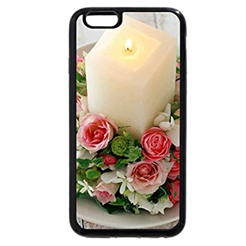 iPhone 6S Plus Case, iPhone 6 Plus Case, FLOWER RING BOUQUET WITH CANDLE