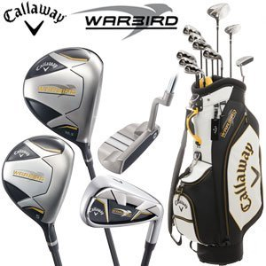 Callaway Golf Set Warbird, set di mazze da golf con sacca inclusa