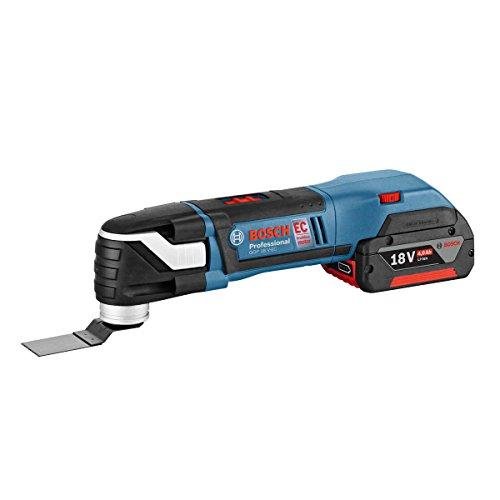 Preisvergleich Produktbild Bosch GOP18V-EC1 Akku-multi-cutter Brushless  1x18V 4Ah Li-ion + 20 zubehör + L-boxx