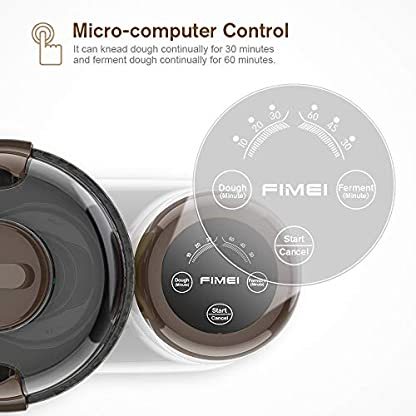 FIMEI-Kchenmaschine-mit-Fermentation-Funktion-Knetmaschine-mit-Timer-35L-Rhrschssel-mit-Antihaftbeschichtung-3-Arbeitsmodi-Mikrocomputersteuerung-Lrm-unter-70-db