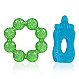 #10: Baal Combo of Colorful Light Weight Baby Teether for Infant Newborn Baby Chew Toys Teething Teether, 10 Grams, Pack of 1 (@3)