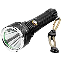 Oshide Tactical 51000LM 5Modes T6 Linterna LED Zoomable 18650 Linterna de enfoque militar