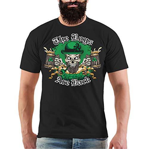 Männer und Herren T-Shirt The Boys Are Back (mit Rückendruck) Größe S - 8XL -