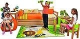 Kinderteppich Spielteppich Kinderzimmer Teppi...Vergleich