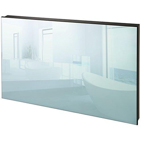 TecTake Spiegel Infrarotheizung 650 Watt ESG Glas