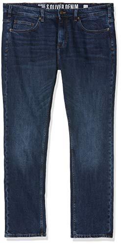 s.Oliver Big Size Herren 15.907.71.5860 Loose Fit Jeans, Blau (Blue Denim Stretch 54z4), W42 (Herstellergröße: 42/30) -